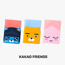 【Kakao friends】カカオフレンズ透明パスポートケース/Kakao friends clear passport case/3種・KAKAO FRIENDS正規品