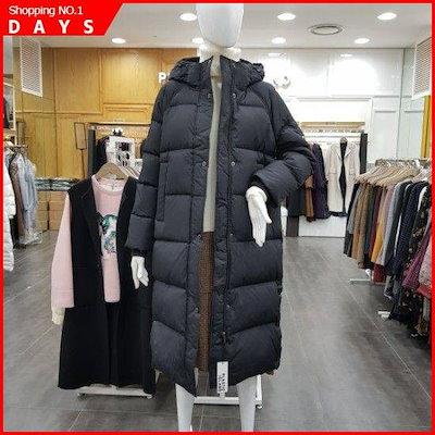 ロングダウンジャンパー(pj4nz662) / パディング/ダウンジャンパー/ 韓国ファッション