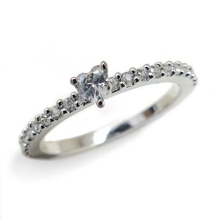 『広告の品 』売り切ります ピンキーリング リング 指輪 レディース シンプル きらきら パーティーや結婚式、プレゼント 3号 5号 7号 9号 11号【あす楽】アクセONE 女性用 おしゃれ レディ