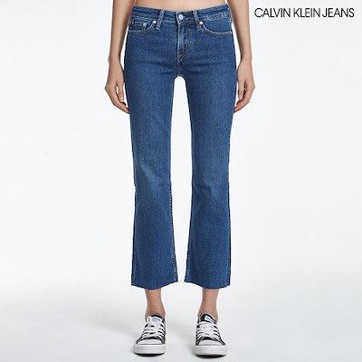 [AK公式ストア][CalvinKlein Jean】女性のスリムブーツデニムパンツJ211080