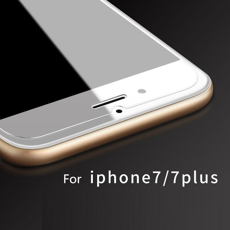 【メール便対応】iPhone7/8 /7 plus/8 Plus ★クリアガラス保護フィルム 2.5Dプレミアム加工★ 0.25mm耐衝撃 強化ガラス
