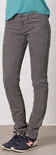 prAna Womens Trinity Cord Pants, Size 2, Gravel