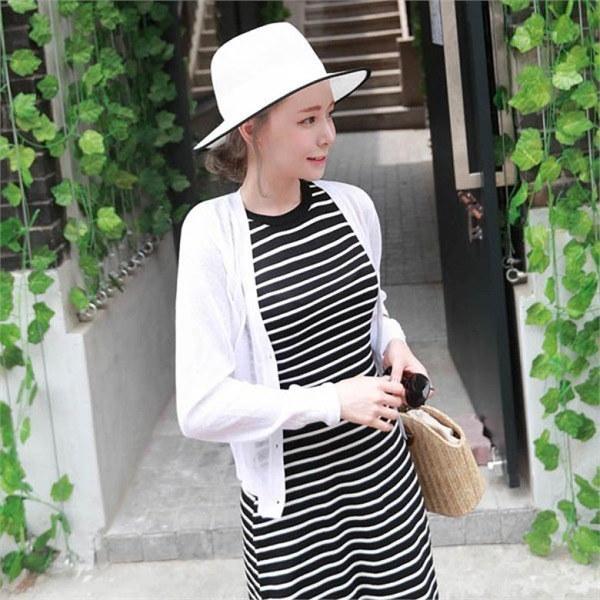 素であるバブルティーミニカディゴンnew 女性ニット/カーディガン/韓国ファッション