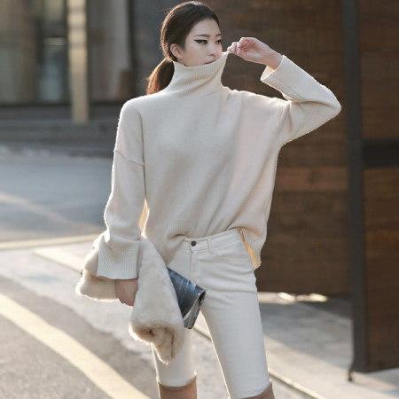[ディントゥ] E-4228ジェーンカシミアニットトップkorea fashion style