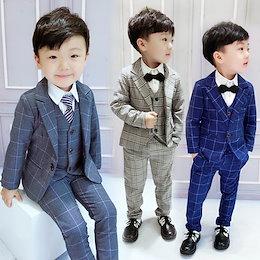 「5セット」スーツ 男の子 子供 キッズ タキシード ベスト付き スーツ 男の子 卒業式 スーツ 男の子 入学式 男の子 男児 卒業式スーツ 発表会 結婚式