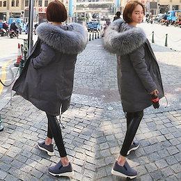 モッズコート モッズジャケット レディース 冬 40代 中綿コート ロング丈 カジュアル フード付 アウター暖かい 上品 オシャレ 大きいサイズ 韓国風