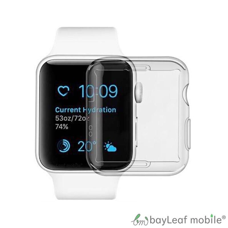 Apple Watch Series 3 2 1 TPU ソフトカバー メタリック ソフトケース 42mm 38mm