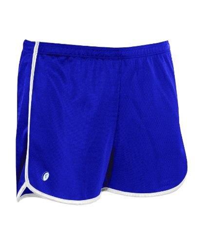 Russell Athletic WK2DZX Ladies Dazzle Short - Royal/White - Small