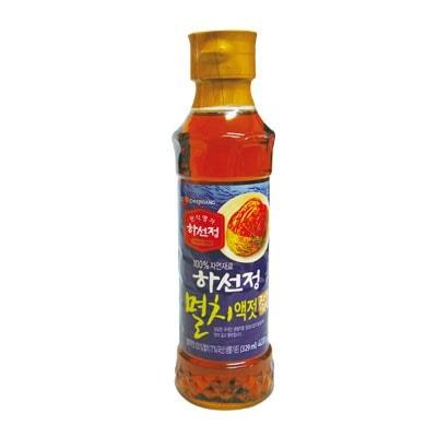 『CJ』ハソンジョン イワシエキス|いわし液状だし(400g) 韓国キムチ 韓国調味料