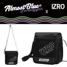 【EXO(エクソ)のセフン着用】【ALMOSTBLUE X IZRO】 MINI BAG サコッシュバッグ 斜め掛け ミニショルダー 小さめ ポーチ バッグインバッグ