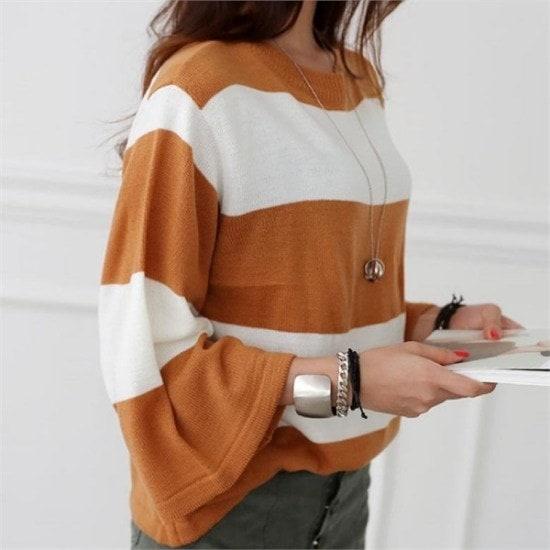 シーフォックス行き来するようにシーフォックスセルリオンknitニート ニット/セーター/ニット/韓国ファッション