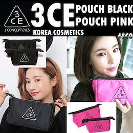 [韓国コスメ/韓国化粧品/韓国ファッション/ STYLENANDA]3CE POUCH/3CE PINK POUCH/3CE POUCHSMALL/ポーチ化粧品のバッグバッグmini