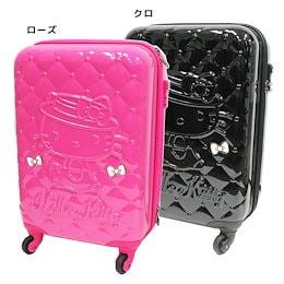 【送料無料】ハローキティ スーツケース 115cmキャリーケース キルティング柄  サンリオ アートウエルド 機内持ち込み可 海外旅行 バッグ キャラクターグッズ シネマコレクション■