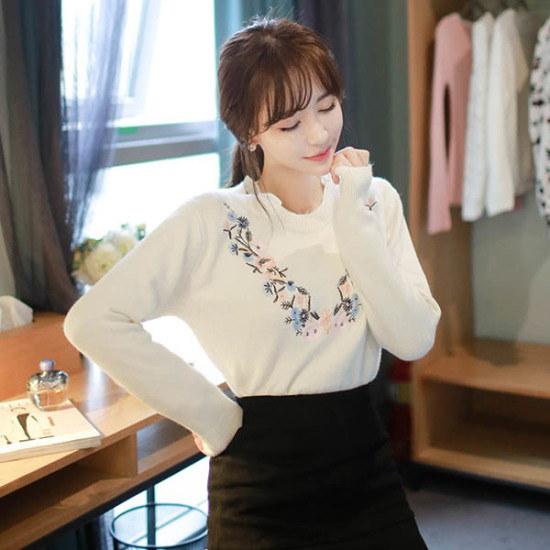 フィオナネクコッソンイknitm5336ニート ニット/セーター/ニット/韓国ファッション