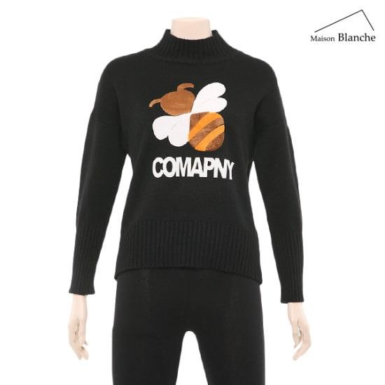 メゾンブルランスィホニビ・ニットM174PSWC04 ニット/セーター/パターンニット/韓国ファッション