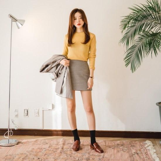 【ツイ]ハニー春ニット ニット/セーター/ニット/韓国ファッション