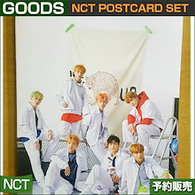 4. NCT POSTCARD SET / NCT POPUP ALBUM GOODS / 1809nct /1次予約 / 送料無料