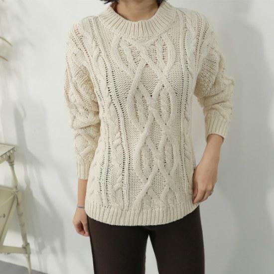 ラベルルームLT17121、ルノー・ニット ニット/セーター/ニット/韓国ファッション