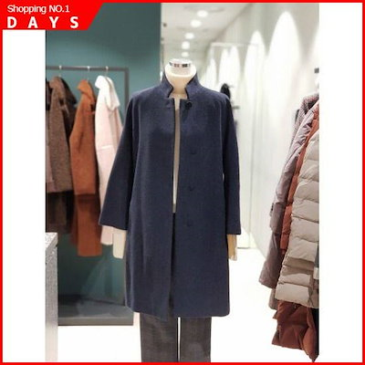[シーズ・ミス]、シーズ・ミス・チャイナネックハーフコートSWWHCI41200SWWHC141200KH(P /トレンチコート/コート/韓国ファッション