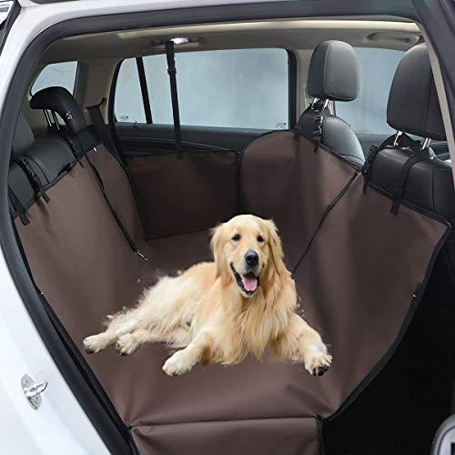 2020新型 ペット用ドライブシート 犬用 カーシート 車用ペットシート ペット 車シートカバー 防水 車載 ペットカバー 後部座席ドライブボックス 撥水表面 滑り止め 汚れに強い ドライブマット ペ