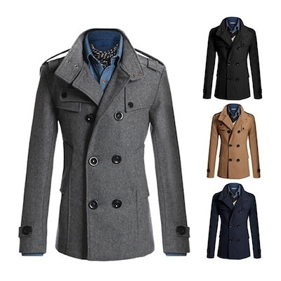 Babyface Mens Coats New Arrival British Style Casual Woolen Overcoats Urban Fashion Business Windbre