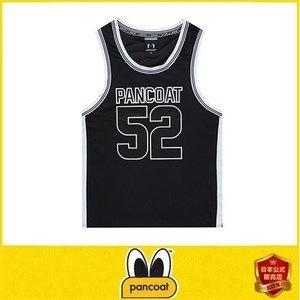 正規品 PANCOAT パンコート キャラクター T-シャツ・PANCOAT SWAG 52 MESH SLEEVELESS (FU) (MIDNIGHT BLACK) 半袖・夏 Tシャツ・メンズ