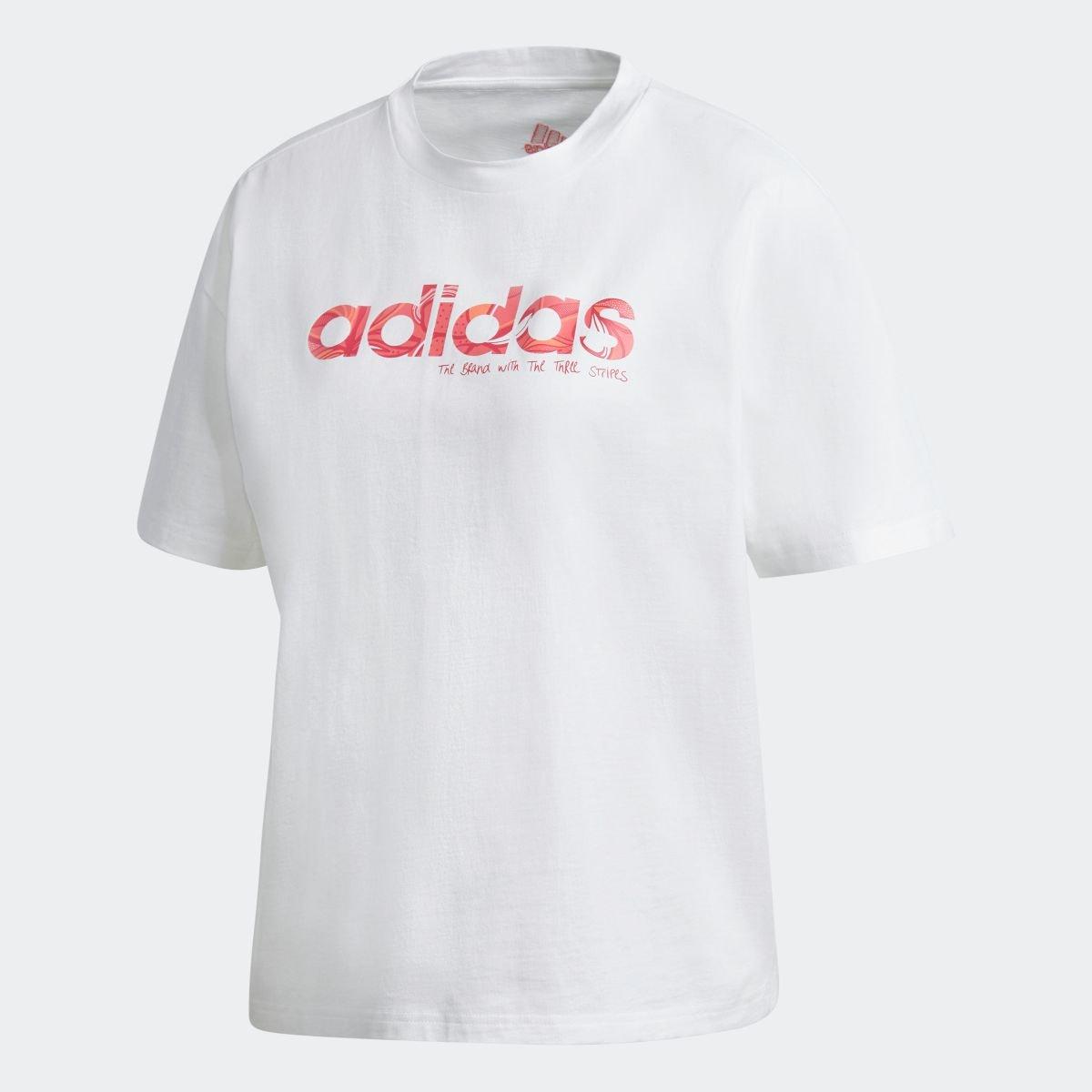 【公式】アディダスadidasアディダスグラフィックTシャツ/adidasGraphicTeeレディースウェアトップスTシャツGL7797