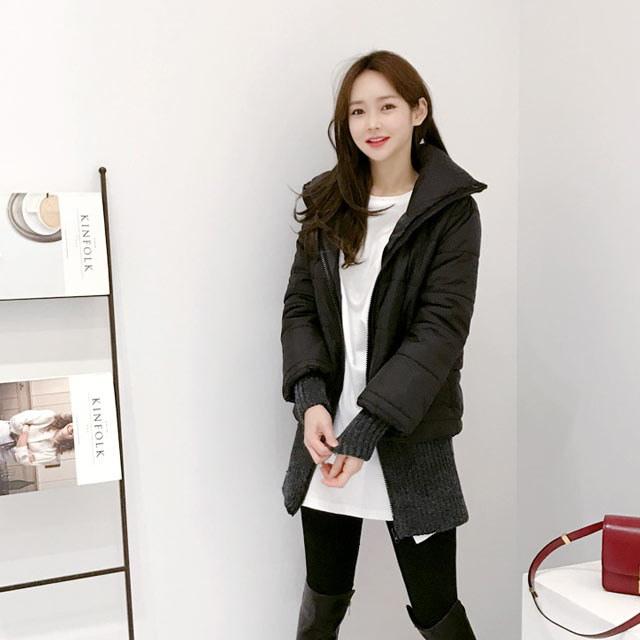 タートルニットジャンパーkorean fashion style