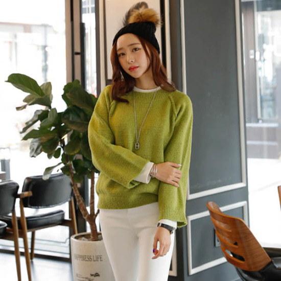 シークフォックスブリューニット ニット/セーター/ニット/韓国ファッション