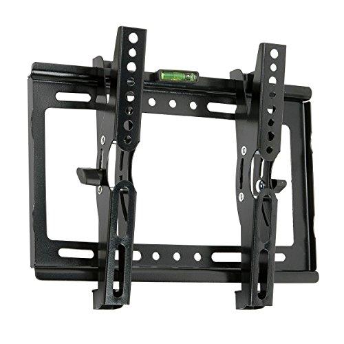 送料無料 テレビ壁掛け 金具 JinNiu 14-42インチ 汎用液晶TVモニター取り付け金具け 上下角度調節可能 24 32 37 40型 VESA対応最大規格250*210mm
