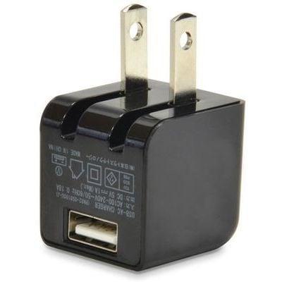USB充電器 cubeタイプ110 CUBEAC110BK [ブラック]