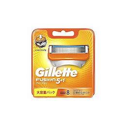 ジレット 髭剃り フュージョン5+1 替刃8個入 4902430698856