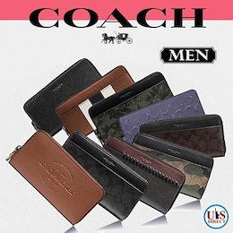 💖送料無料💖ニューヨーク直送💖【COACH MENS/コーチ男性】【正規品】★全品特集SALE💛長財布💛F58109