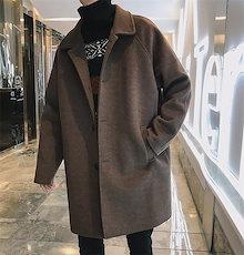 2018秋冬新作  シングル ダブル ロングコート メンズファッション アウター コート