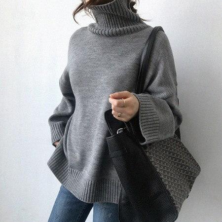 アイン・デ・タートルネックニットKorean fashion style