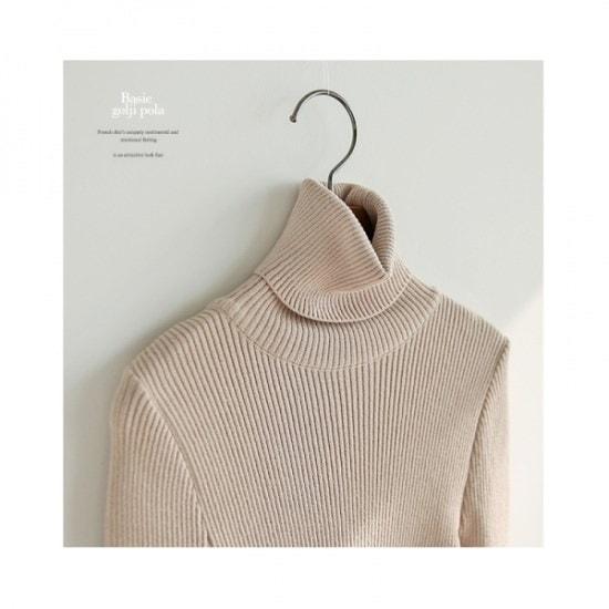 ジェイコムマベーシックゴルジポーラ ニット/セーター/タートルネック/ポーラーニット/韓国ファッション