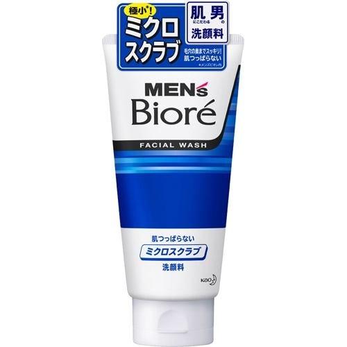 メンズビオレ ミクロスクラブ洗顔 130g 製品画像