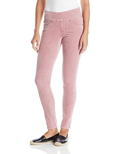 Jag Jeans Womens Nora Cord Skinny, Wild Rose, 14