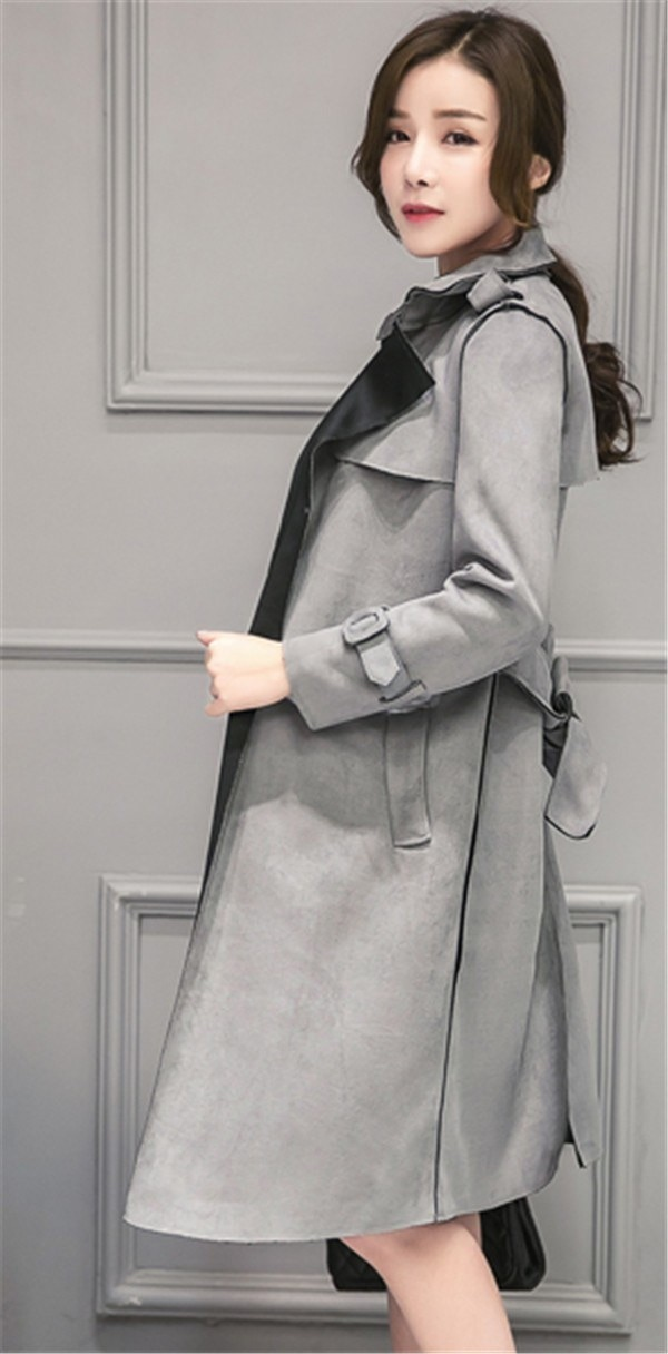 コートレディース トレンチコート ロングコート 着やせ シンプル ファッション 着心地よい 春新作 通勤 きれいめ春コート レディースコート