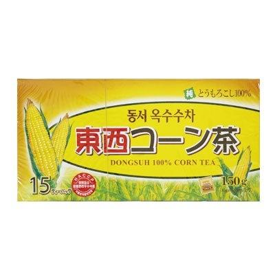 『東西』コーン茶 トウモロコシ茶(150g・15包 ティーバッグ) 煮出し・水出し両用 ドンソ 韓国お茶 健康茶 韓国飲料 ダイエット茶
