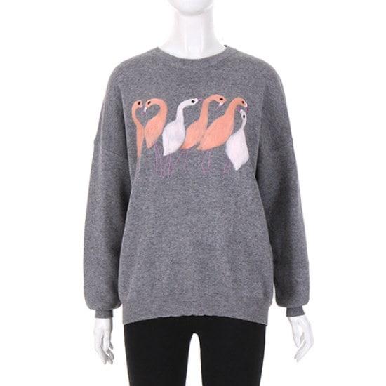 [コインコーズ]女性らしいラウンドスワンニットIK7WP6770 / ニット/セーター/ニット/韓国ファッション