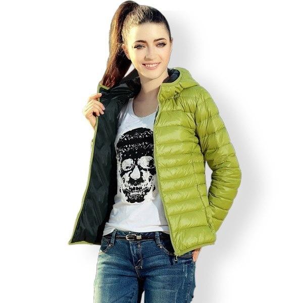 コットンフード付きレディースジャケット新ファッションウィンターカジュアル薄型レディースコートスリムウォームパッディングアウトウェアチャウケ