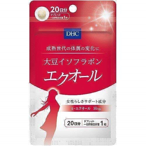 DHC 健康食品相談室 DHC 大豆イソフラボン エクオール 20日分 20粒 4511413406137