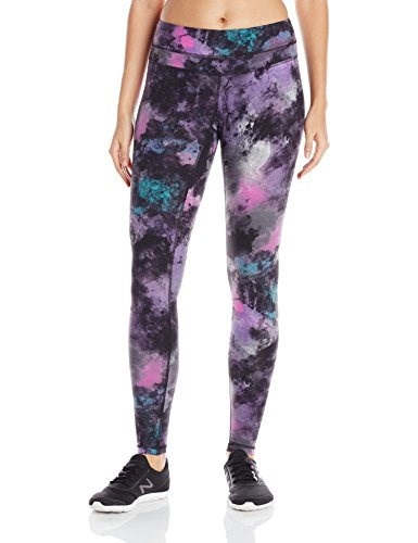 Lucy Womens Studio Hatha Legging, Northern Lights Print, Small