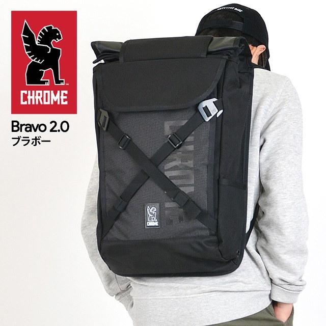 クローム CHROME バックパック リュック Bravo 2.0 Night ブラボーナイト BG-190 NIGHT/BLACK 20L
