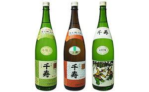 うしまどの地酒「千寿」飲みくらべ