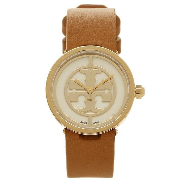 トリーバーチ 時計 アウトレット TORY BURCH TRB4004 REVA レバ レディース腕時計ウォッチ イエローゴールド/ホワイト/ブラウン