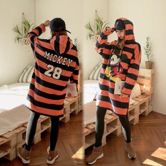 ピンクシスレー担い、三木ヤンキモフードワンピース 綿ワンピース/ 韓国ファッション