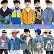 子供服 デニムコート 子供アウター デニムジャケット子供服 女の子 サイズ90-150 男女兼用