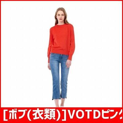 [ボブ(衣類)]VOTDピングリーンウォッシングのデニムパンツ7118155301140 /パンツ/ショートパンツ/デニムパンツ/韓国ファッション